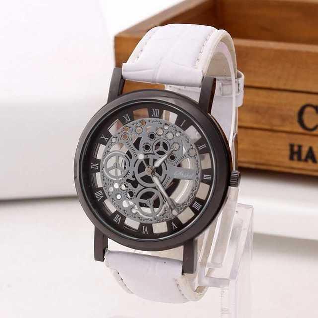 スケルトン ファッション時計の通販