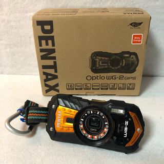PENTAX - PENTAX 防水デジタルカメラ Optio WG-2GPS