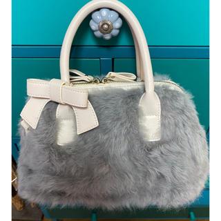 エムズグレイシー(M'S GRACY)のエムズグレイシーのラビット素材の素敵なファーバッグ꙳★*゚数回使用(ショルダーバッグ)