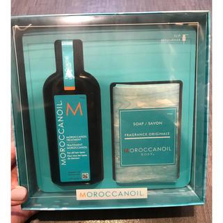モロッカンオイル(Moroccan oil)のモロッカンオイル&ソープ(オイル/美容液)