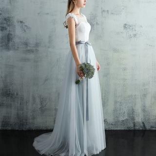 パーティードレス フォーマル 結婚式 二次会 女子会 お呼ばれ XS~XXL(ロングドレス)