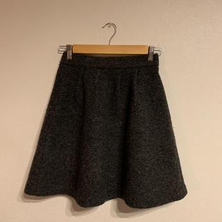 プラステ(PLST)のPLST スカート  ダークグレー(ひざ丈スカート)
