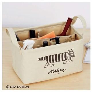 リサラーソン(Lisa Larson)のSPRiNGスプリング1月号の付録◆リサラーソン◆仕切りたっぷり収納ボックス(リビング収納)