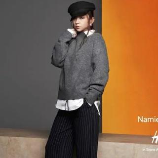 エイチアンドエム(H&M)のNAMIE AMURO H&M コラボ帽子(ミュージシャン)