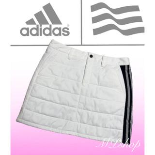 adidas - 美品♡アディダスゴルフ 中綿 ゴルフスカート  蓄熱  保温  防風 秋冬