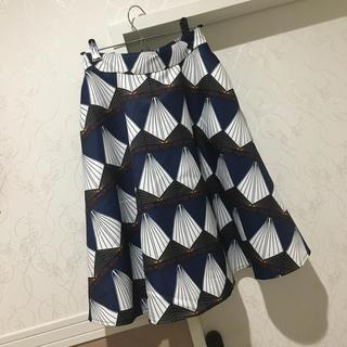 Chesty - レトロデザイン膝丈スカート