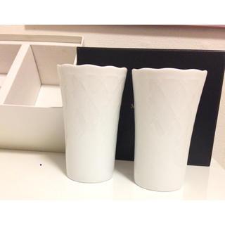 ミキモト(MIKIMOTO)のMIKIMOTO ペアカップ 未使用品 グラス カップ 箱あり(グラス/カップ)