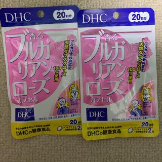 ディーエイチシー(DHC)の香る ブルガリアンローズ DHC サプリメント 2袋(口臭防止/エチケット用品)