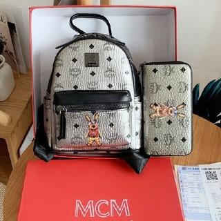 MCM - MCM バックパック 财布 2点セット 新品未使用