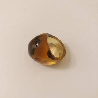 【1個】LALIQUE ラリック 指輪(茶色のみ)(リング(指輪))