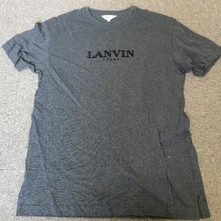 ランバン(LANVIN)のランバン  スポーツ  シャツ  グレー  LL (Tシャツ/カットソー(半袖/袖なし))