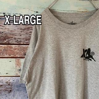 XLARGE - エクストララージ  Lサイズ バックプリント Tシャツ グレー