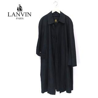 ランバン(LANVIN)の最高級シルク100%◎LANVIN ランバン ステンカラーコート(ステンカラーコート)