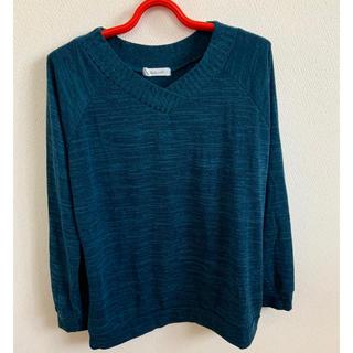 セーター グリーン系 Lサイズ