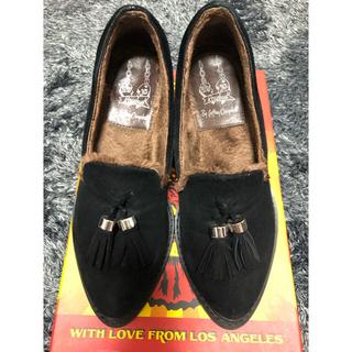 ジェフリーキャンベル(JEFFREY CAMPBELL)のジェフリーキャンベルのタッセル付きヒールローファー(ローファー/革靴)