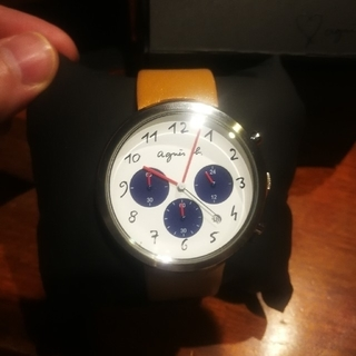 アニエスベー(agnes b.)のアニエスベー agnes b.  腕時計 FCRT975(腕時計)