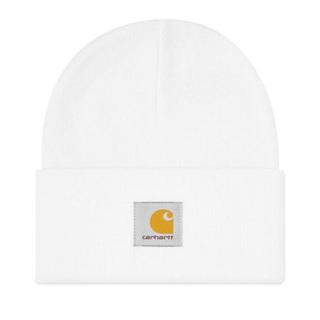カーハート(carhartt)のカーハート ニット帽 白 ホワイト carhartt ニットキャップ(ニット帽/ビーニー)