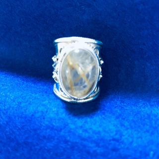 石付きシルバーリング(リング(指輪))