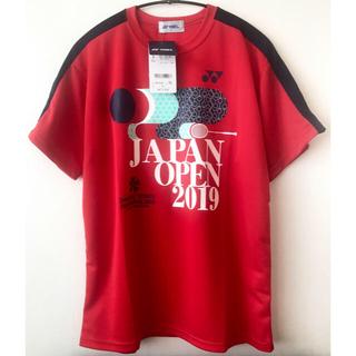 ヨネックス(YONEX)のYONEX 新品 Tシャツ ダイハツ ヨネックス ジャパン オープン 2019(バドミントン)