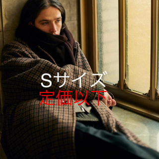 サンシー(SUNSEA)の【専用】DOUBLE JQUARD KNIT BAL COLLAR COAT(ステンカラーコート)