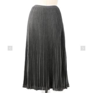 Drawer - Drawer ドゥロワー フリンジプリーツニットスカート