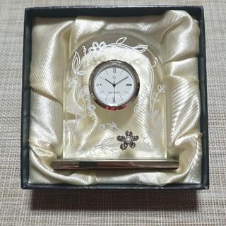 ミキモト(MIKIMOTO)の【新品】ミキモト置き時計(置時計)