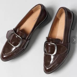 ジーナシス(JEANASIS)のこっこさん専用 バックルデザインローファー(ローファー/革靴)