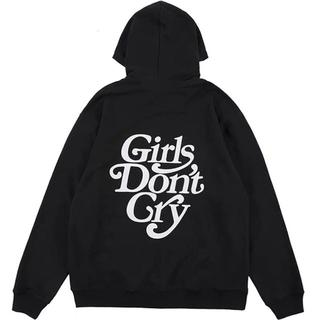 STUSSY - Girls Don't Cry  パーカー ブラック 人気 パーカー