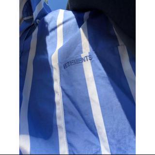 Balenciaga - vetements ストライプシャツ