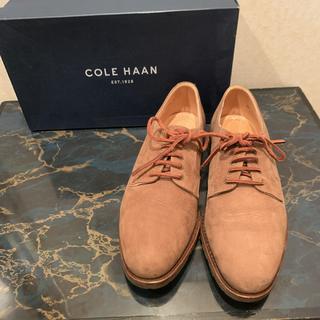 コールハーン(Cole Haan)のCole Haan コールハーン  ヌバックレザー  ドレスシューズ  革靴(ドレス/ビジネス)