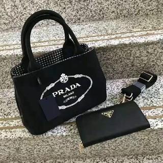 PRADA - PRADA カナパトートバッグ S