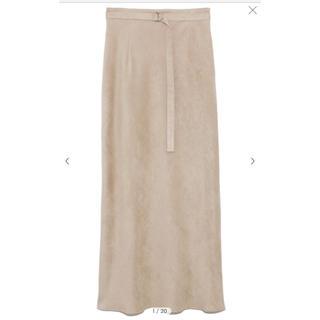 FRAY I.D - スエードナロースカート