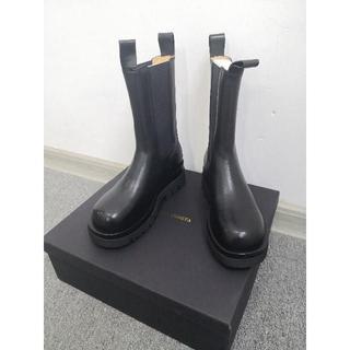 Bottega Veneta ブラック ブーツ(レインブーツ/長靴)