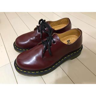 ドクターマーチン(Dr.Martens)の【美品】Dr.Martens ドクターマーチン 3ホールブーツ チェリーレッド(ブーツ)