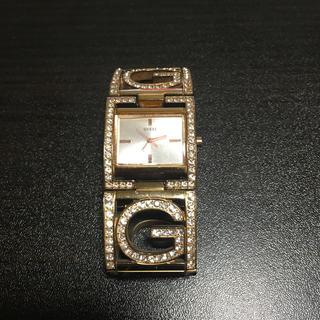 ゲス(GUESS)のguess腕時計ゴールド(腕時計)