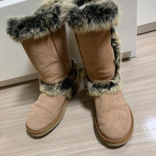 アグ(UGG)のugg classic tall  ブーツ フォックス ファー(ブーツ)