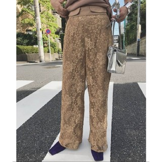 Ameri VINTAGE - 新品タグ付 アメリヴィンテージ LAYLA LACE PANTS