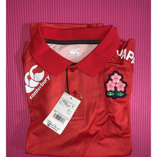 CANTERBURY - ラグビー日本代表ポロシャツ 日本サイズL