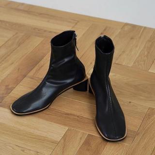 ステュディオス(STUDIOUS)のCLANE BACK ZIP BOOTS(ブーツ)