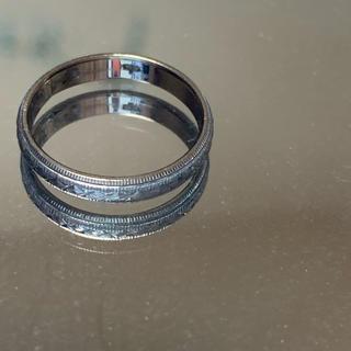 k14ホワイトゴールドリング❤️(リング(指輪))