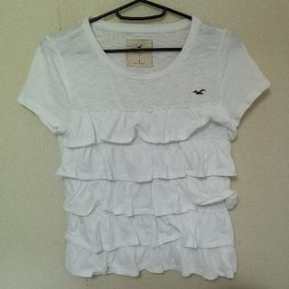 ホリスター(Hollister)のHOLLISTER  レディース  S  Tシャツ ホワイト(Tシャツ(半袖/袖なし))