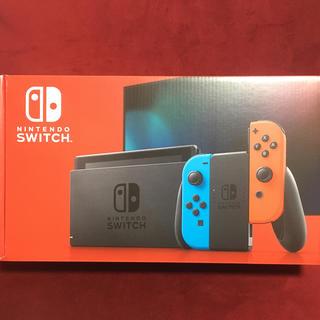 ニンテンドースイッチ(Nintendo Switch)のNintendo Switch JOY-CON(L) ネオンブルー/(R) 新型(家庭用ゲーム機本体)