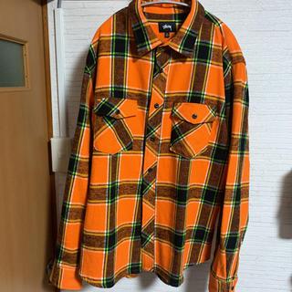 STUSSY - Stussy  '19AW チェックヘビーネルシャツ