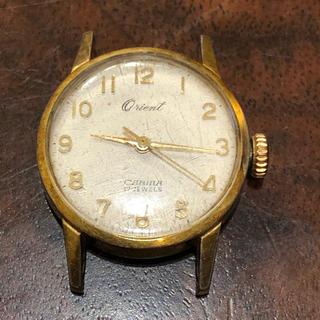 オリエント(ORIENT)のORIENT オリエント 手巻き CARINA 17 jewels ジャンク品(腕時計)