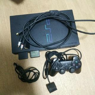 動作確認済 D端子ケーブル、コントーラー付き PS2 本体 scph30000 (家庭用ゲーム機本体)