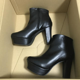 ブーツ ブラック 大きいサイズ(ブーツ)