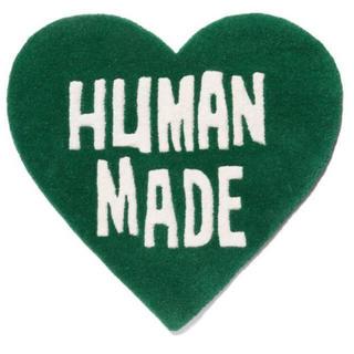 アベイシングエイプ(A BATHING APE)の新品未使用 human made heart rug 渋谷PARCO(ラグ)