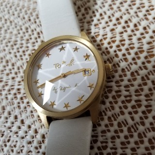 アニエスベー(agnes b.)のTo★b.by agnes b. アナログ時計 革ベルト ベルト交換推奨品(腕時計)