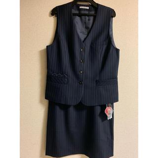 事務服メーカーのベスト&スカートset(スーツ)