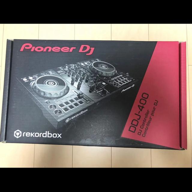 Pioneer(パイオニア)のPioneer DJ DDJ-400 ブラック 新品 楽器のDJ機器(DJコントローラー)の商品写真